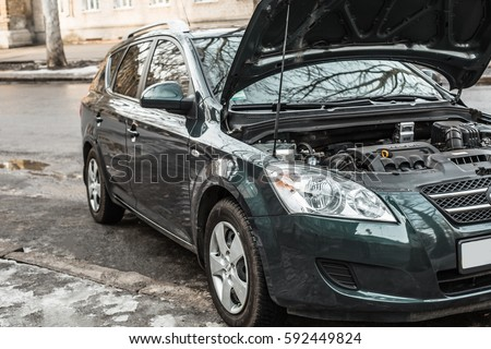 how to open hood of car if cable is broken