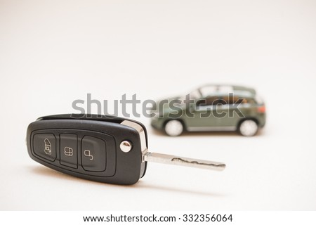 Car key, small car.