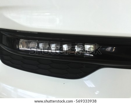 car led light in front