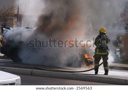 car on fire no3