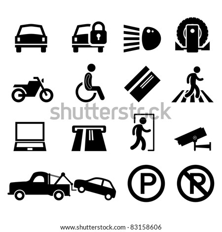 Car Safety Vector Icons 491008921