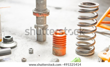 Car Struts Stock Images Royalty Free Images Vectors Shutterstock