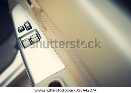 car's window control switch 