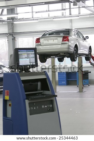 car service - stock photo