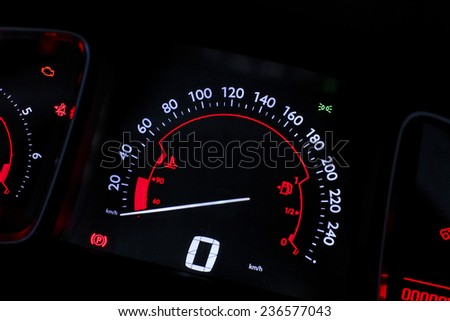 car speed board