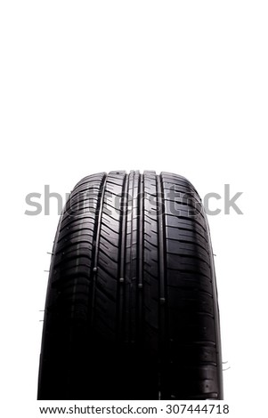 Car tire - stock photo