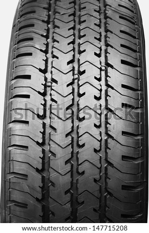 Car tire background - stock photo