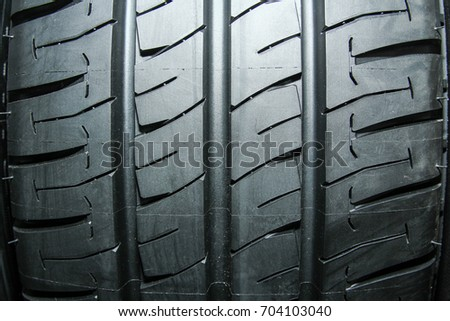 Car tires for car background