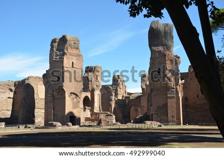 the baths of caracalla essay Free essay: 274) only guests of hearst were allowed to use his pool whereas anyone could go into the baths of caracalla both the roman pool and the baths.