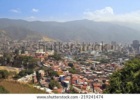 Caracas city. Capital of Venezuela - stock photo