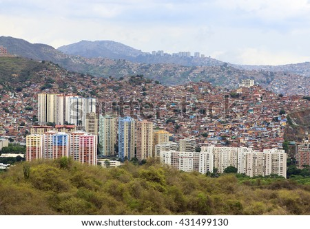 Caracas city. Capital of Venezuela - stock photo