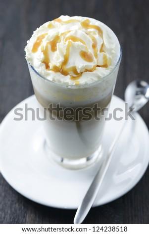 Caramel Latte - stock photo