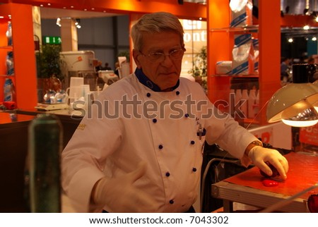 Caramel maker - stock photo