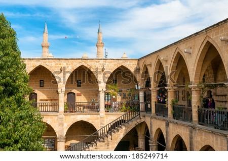 Caravansarai Buyuk Han. Nicosia, Cyprus - stock photo