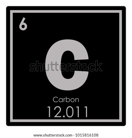 Carbon symbol stock images royalty free images vectors carbon chemical element periodic table science symbol urtaz Image collections