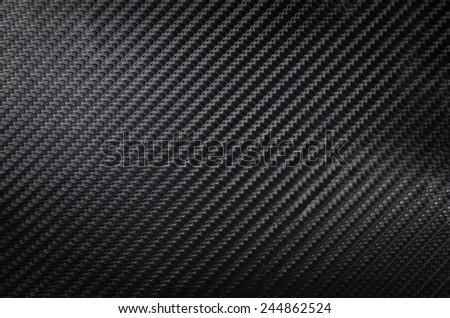 Carbon fiber black background texture, carbon room - stock photo