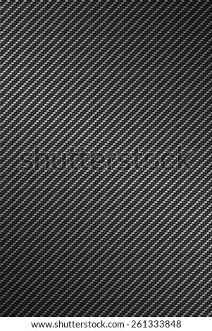 carbon kevlar texture background - stock photo