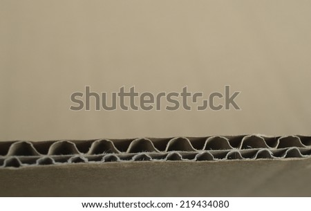 Card board - stock photo