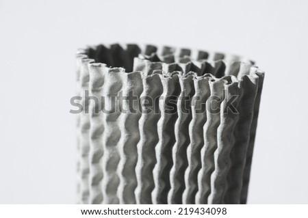card board texture - stock photo