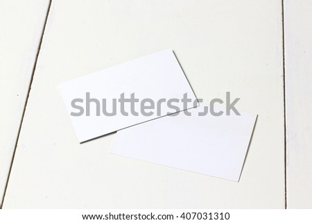 card template for presentation works