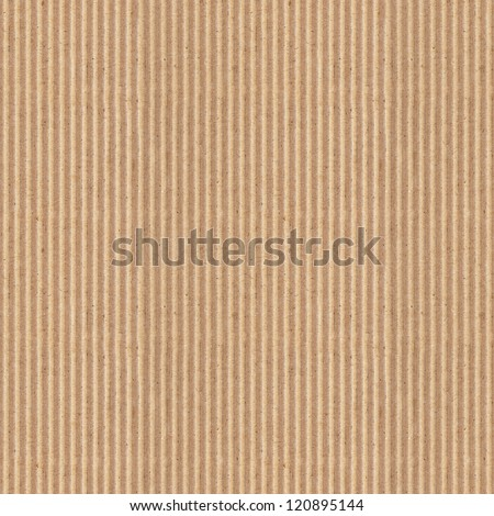cardboard background, high-resolution seamless texture  (texture pattern for continuous replicate) - stock photo
