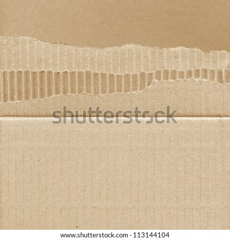 cardboard carton background paper texture - stock photo