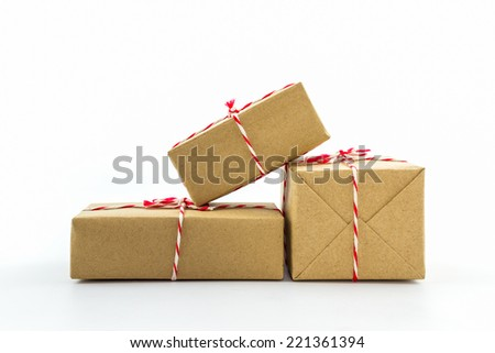 brown shipping paper
