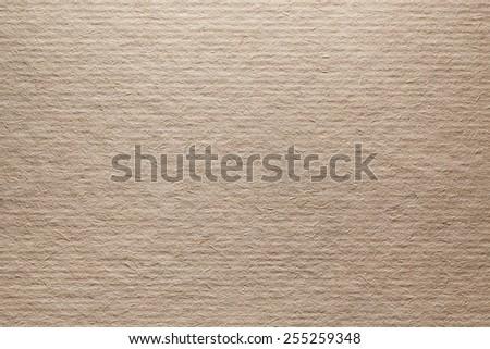 Cardboard Closeup Texture - stock photo