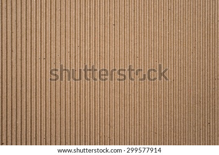 cardboard corrugated pattern background vertical - stock photo