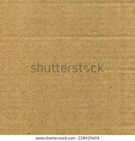 Cardboard paper texture - stock photo