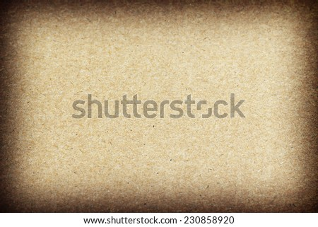 Cardboard , recycled paper for background. - stock photo