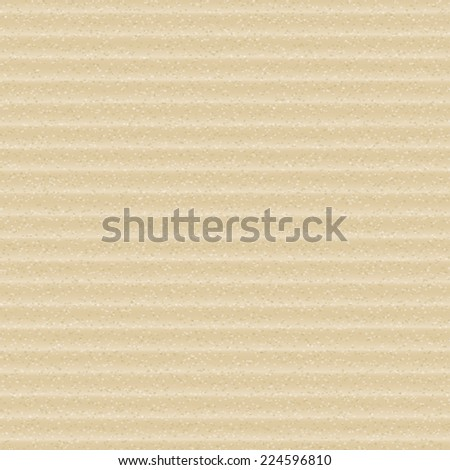 Cardboard Seamless. Realistic background. Raster Version. - stock photo