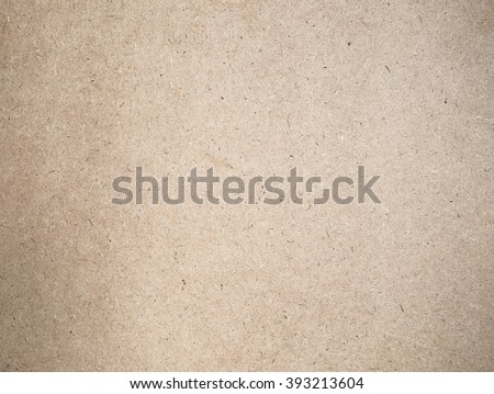 Cardboard sheet of paper, old brown paper texture - stock photo