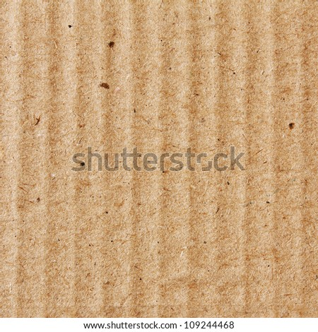Cardboard Texture, Background - stock photo