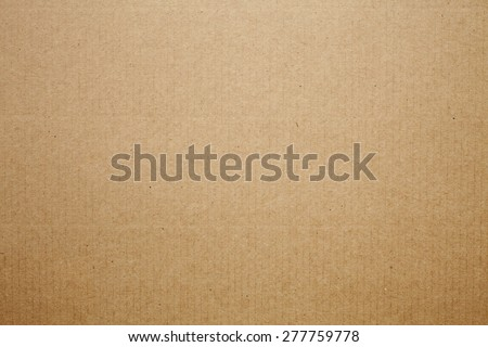 Cardboard texture background - stock photo