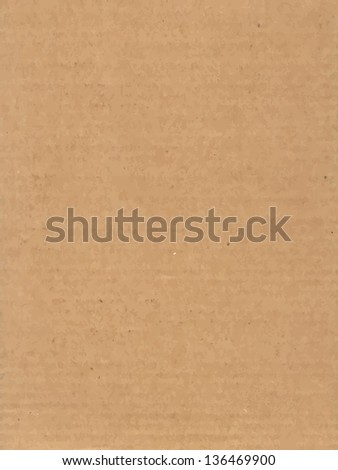 Cardboard Texture. Vector version also available in my portfolio. - stock photo