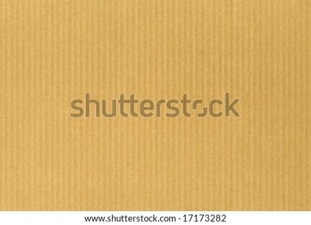 Cardboard textured paper - stock photo