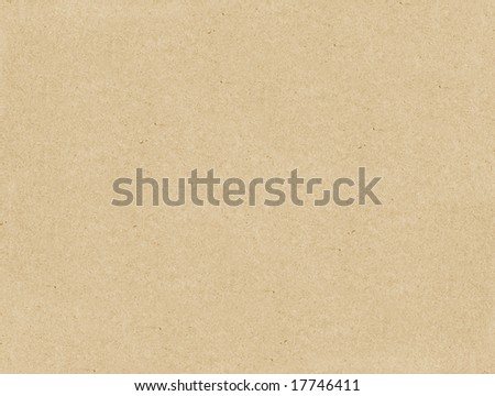 Cardboard wrapping paper texture - stock photo