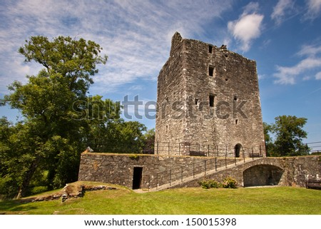 Cardoness Castle, Dumfries and Galloway, Scotland is a 15th century tower house built as a fortified residence for the McCulloch family.
