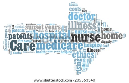care word cloud
