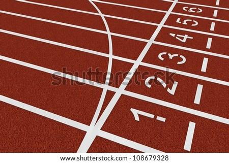 Career - athletics - stock photo