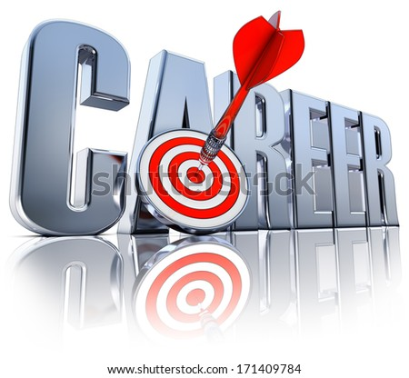 career icon - stock photo