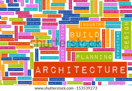 Career in Architecture with Related Terms as Art