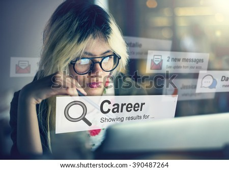 Career Job Occupation Profession Concept