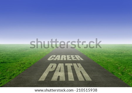 Career path concept - stock photo