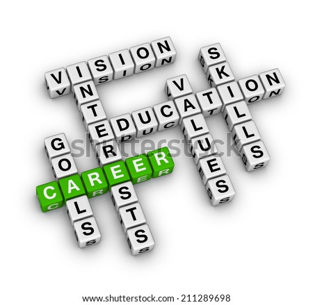 career settings (green-white crossword series)