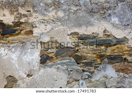 Careless textures of stones - used as wallpaper -