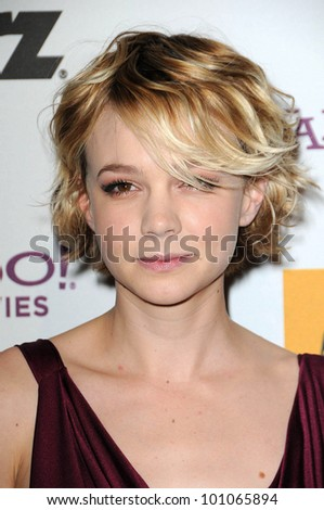 Carey Mulligan  at the 14th Annual Hollywood Awards Gala, Beverly Hilton Hotel, Beverly Hills, CA. 10-25-10