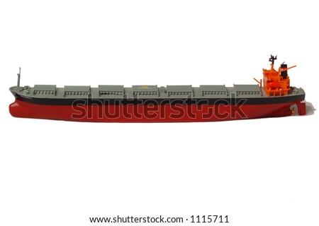 Cargo Tanker - stock photo