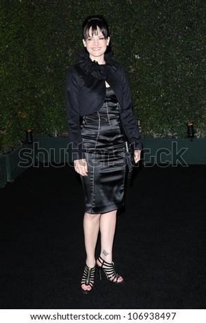 Carla Gugino  at the Louis XIII Black Pearl Cognac Party. Wallis Annenberg Cultural Center, Beverly Hills, CA. 11-10-08